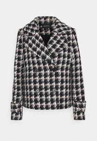 Forever New - HOLLY HOUNDSTOOTH JACKET - Short coat - black - 0