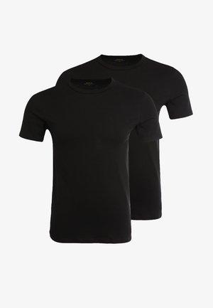 2 PACK - Undershirt - black