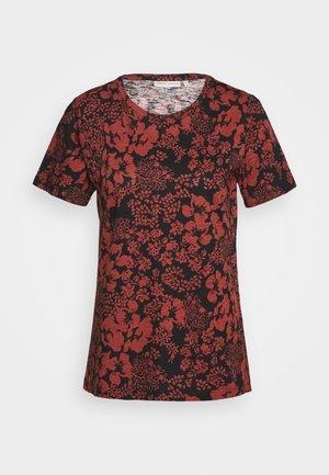 ALMA - Print T-shirt - cayenne poetic