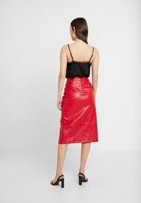 Glamorous - SKIRT - Pencil skirt - red - 2