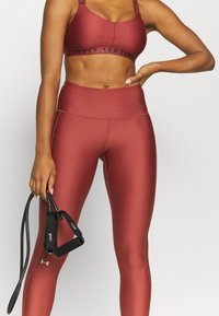 Under Armour - HI RISE LEGGING - Trikoot - cinna red - 3