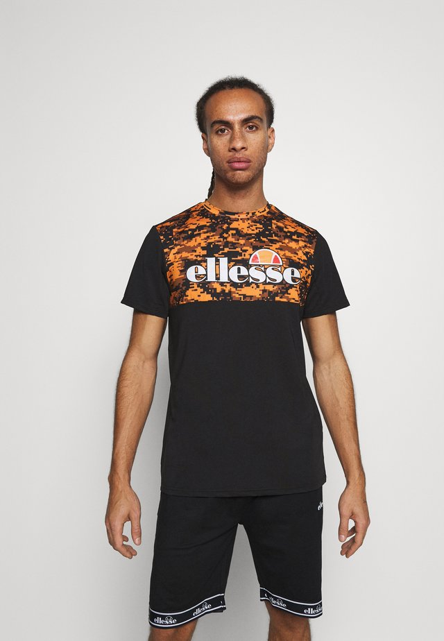 FASTELLO - T-shirt con stampa - orange