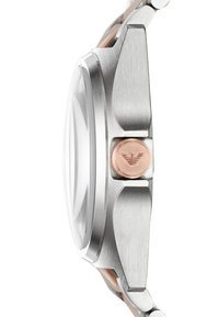 Emporio Armani - Hodinky - silver-coloured/rose - 3
