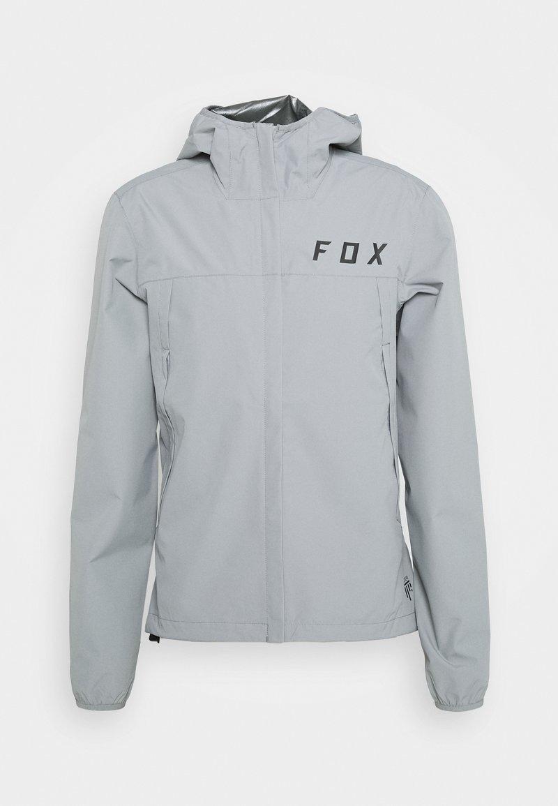 Fox Racing - RANGER WATER JACKET - Hardshell jacket - grey