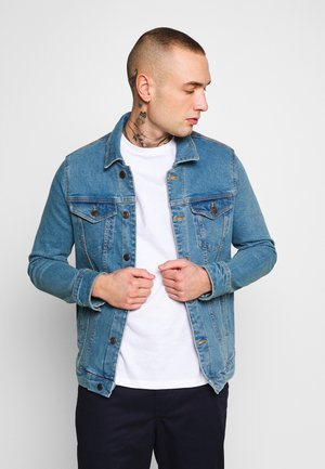 KASH JACKET - Denim jacket - blue