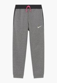 Nike Performance - KYLIAN MBAPPE HYBRID - Tracksuit bottoms - carbon heather/black/white - 0