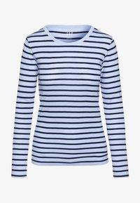 GAP - CREW - Topper langermet - blue stripe - 3