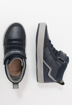 ALONISSO BOY - Zapatillas altas - navy/grey