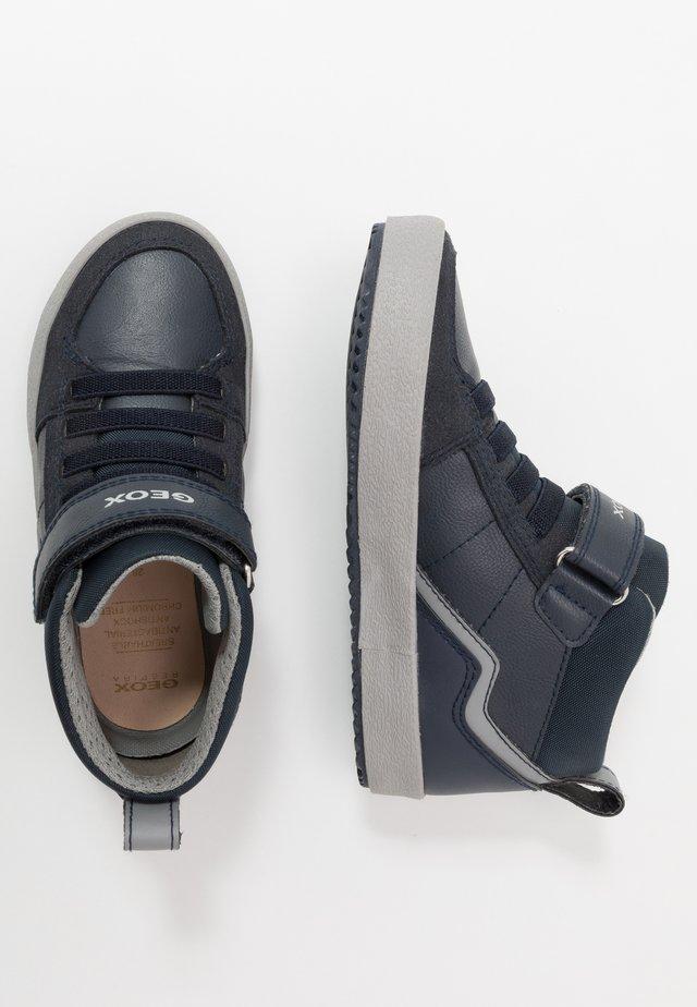 ALONISSO BOY - Baskets montantes - navy/grey