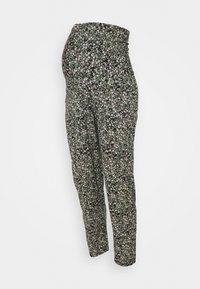 TROUSERS MOM JASMINE - Trousers - black