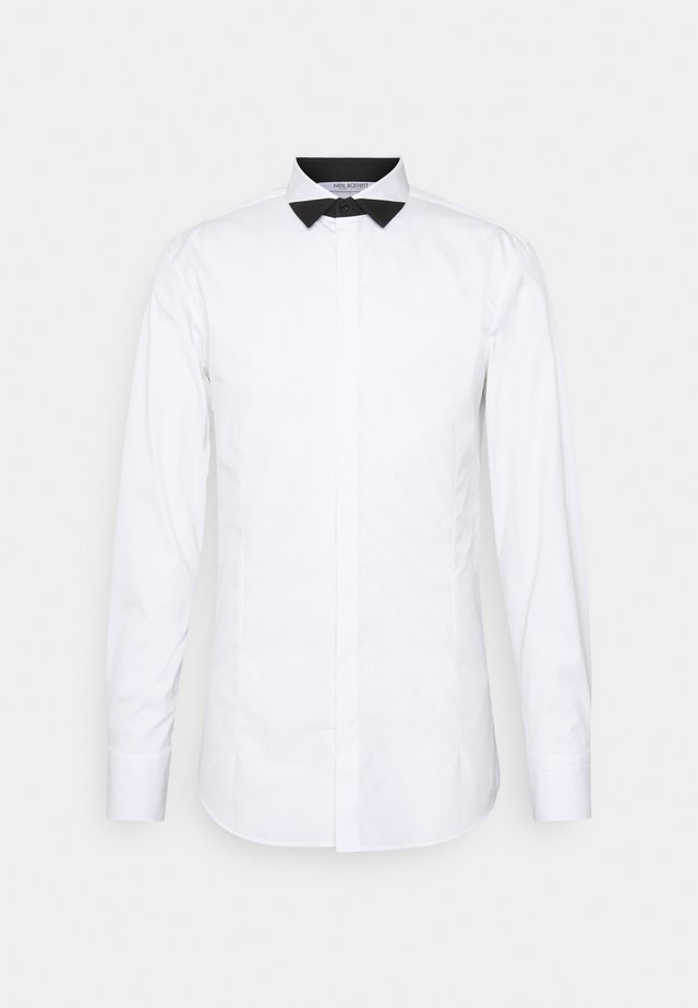 TUXEDO POINT BLOCK - Camicia - white/black