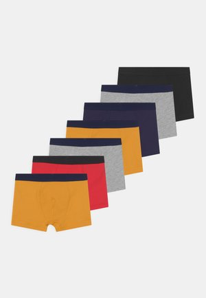 BOYS 7 PACK - Alushousut - grey/ochre/red