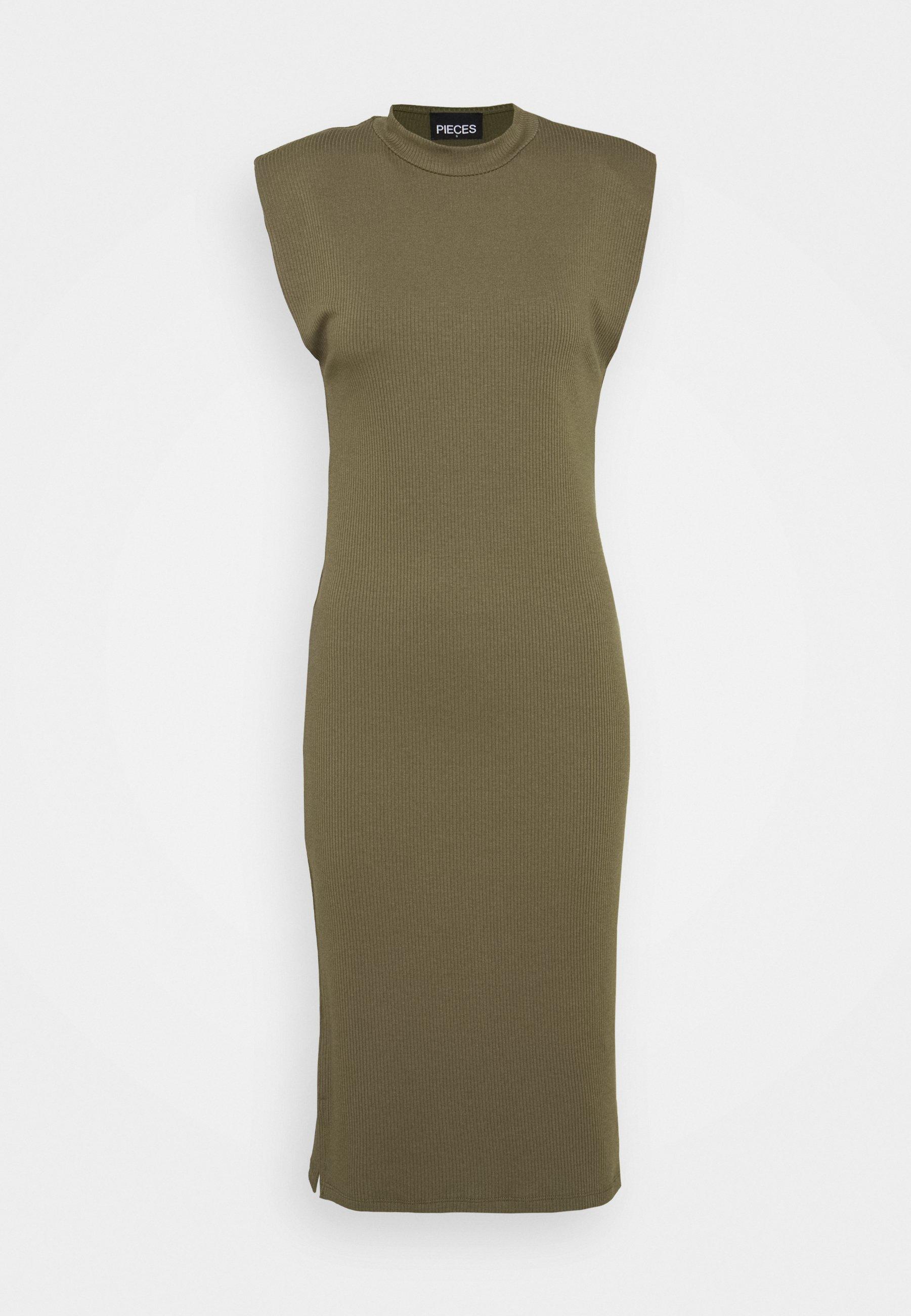 Women PCASLI MIDI DRESS - Jumper dress