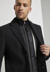TOM TAILOR - Classic coat - dark grey wool jacket - 3