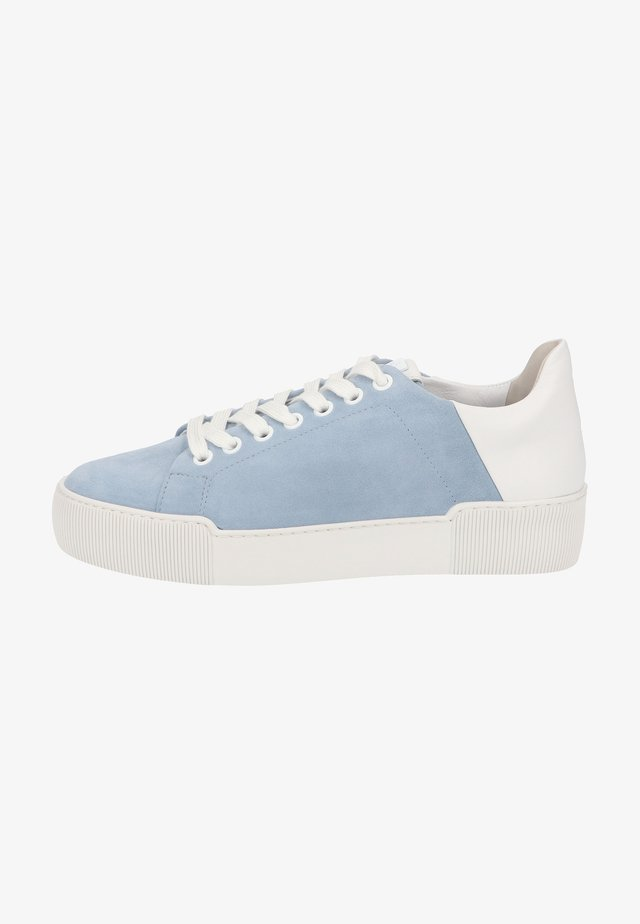 Sneakers laag - jeans weiss