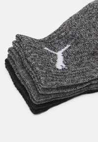 Puma - SHORT CREW 6 PACK UNISEX - Sports socks - grey combo - 1