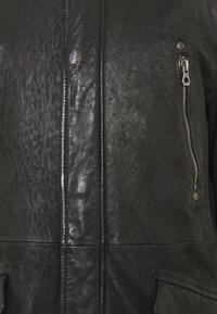 Gipsy - GBESMOND - Leather jacket - black - 4