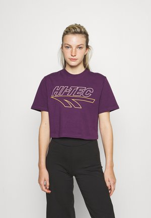 BASSENTHWAITE - T-shirt print - deep purple
