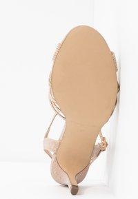 Paradox London Pink - HARSHA - High heeled sandals - champagne - 6