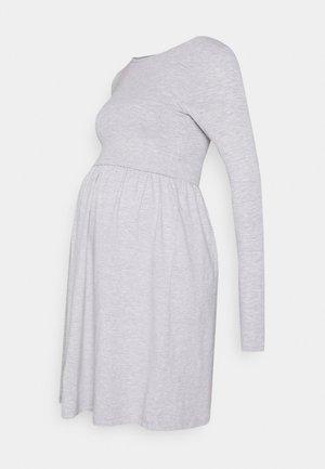 NURSING - Jersey Dress - Žerzejové šaty - grey