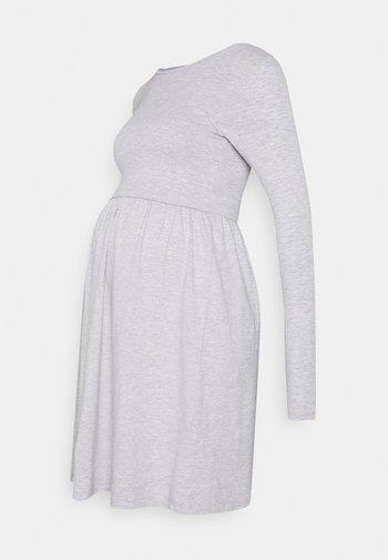 NURSING - Jersey Dress - Jerseykjole - grey
