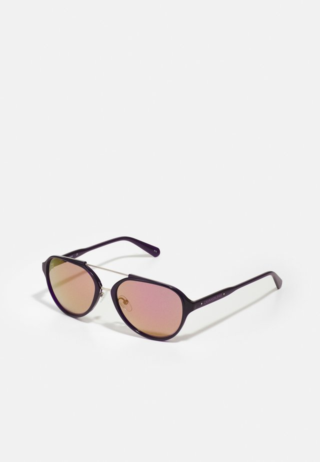 UNISEX - Sluneční brýle - crystal dark purple