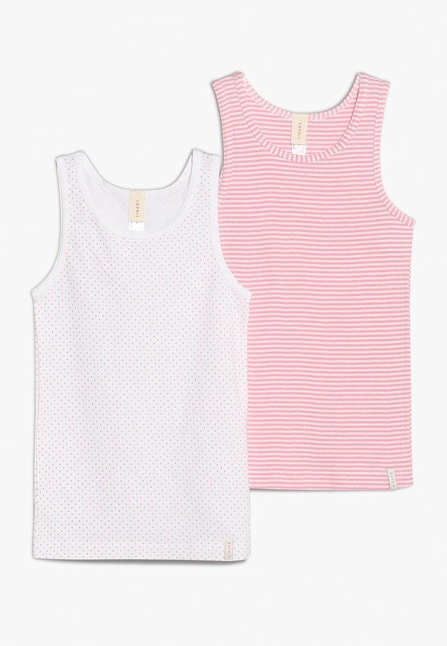 GIRLIE MIX TANK 2 PACK - Undershirt - white
