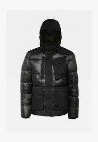 G-Star - UTILITY POCKET PUFFER JACKET - Winter jacket - dk black - 0