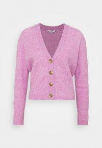 CYDNEY - Cardigan - rose violet melange