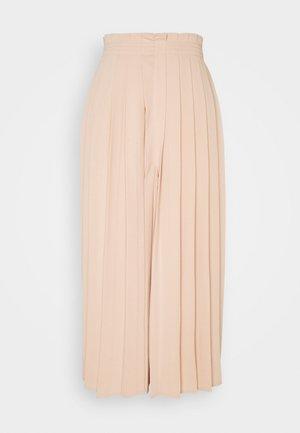 Kalhoty - nude
