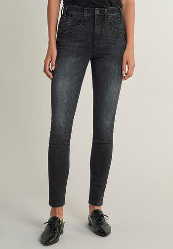 SECRET GLAMOUR PUSH IN - Jeans Skinny Fit - schwarz