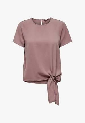 OBERTEIL KNOTENDETAIL - Blouse - rose taupe