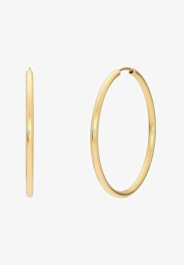CIRCLE - Earrings - gold