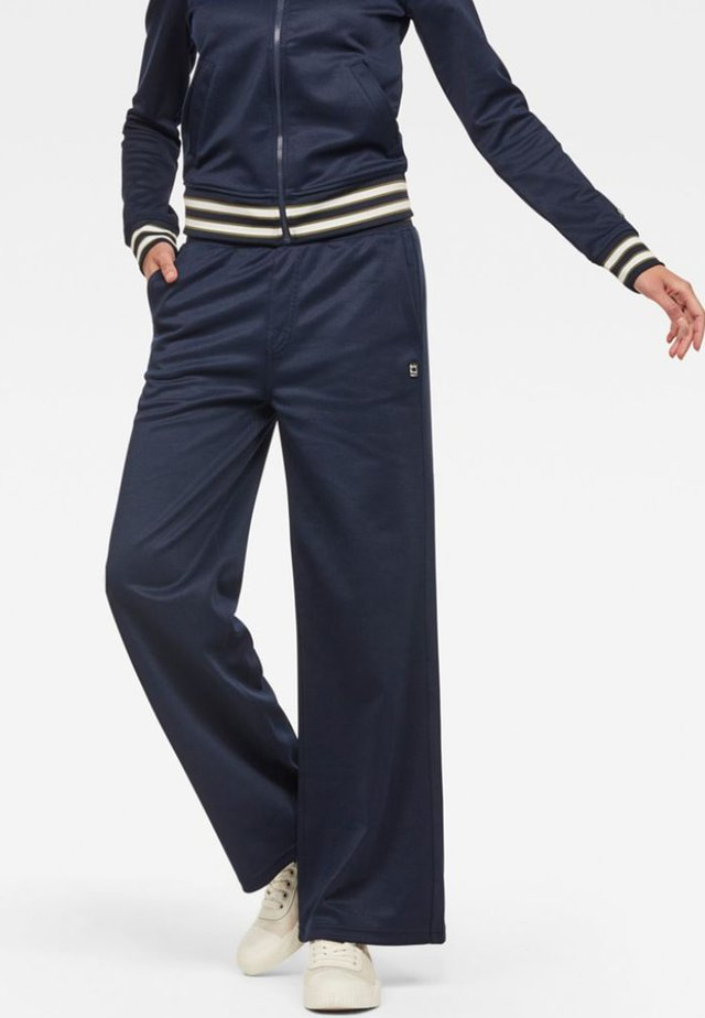 LUCAY WIDE  - Pantaloni - sartho blue