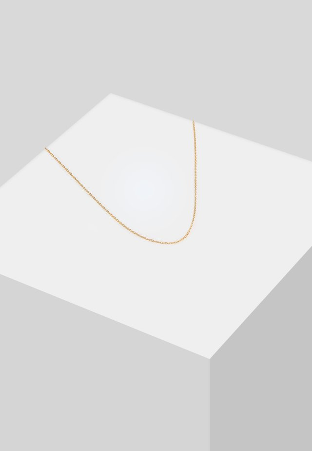 BASIC  - Collier - gold-coloured