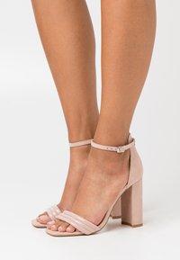 Even&Odd - Korolliset sandaalit - light pink - 0