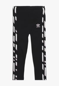 adidas Originals - HOODIE SET - Träningsset - black/white/clear pink - 2