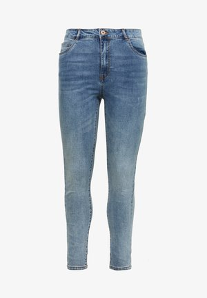 CARAMY LIFE - Jeans Skinny Fit - medium blue denim