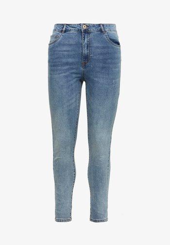 CARAMY LIFE - Jeans Skinny Fit - medium blue denim