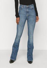 Dr.Denim Tall - MOXY - Flared jeans - eastcoast blue - 0