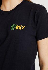 Obey Clothing - THE DANCE - Print T-shirt - black - 4