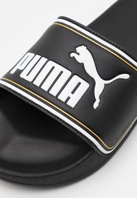 Puma - LEADCAT FTR JR - Muiltjes - black/white - 5