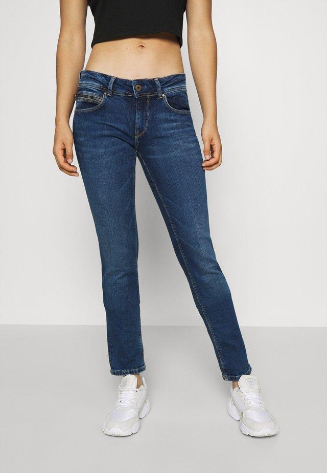 KATHA - Jeans Slim Fit - dark-blue denim