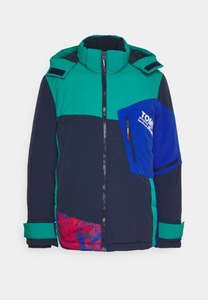 COLORBLOCK SNOW JACKET - Zimní bunda - twilight navy/multi