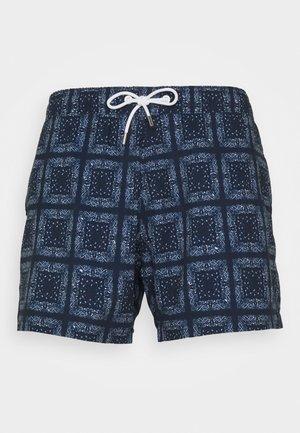 TRUNK HEADLINE PAISLEY - Swimming shorts - dark midnight