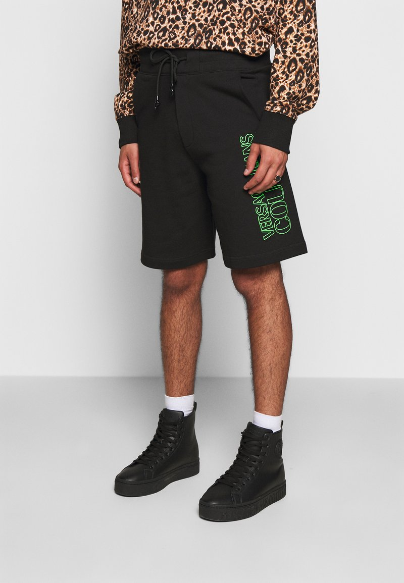 Versace Jeans Couture - FELPA - Short - nero
