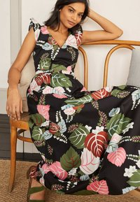 Boden - ANDREA - Maxi dress - schwarz/tropischer urlaub - 3