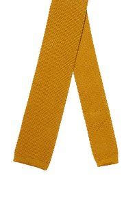 Twisted Tailor - JAGGER TIE - Tie - mustard - 2