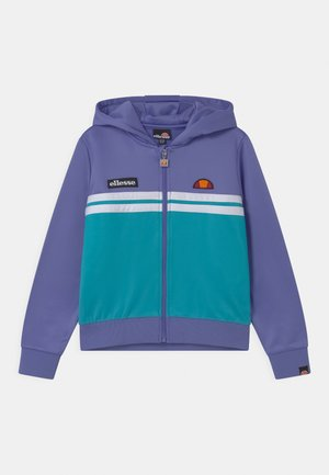 STRACIO CROP HOODY - Zip-up hoodie - purple