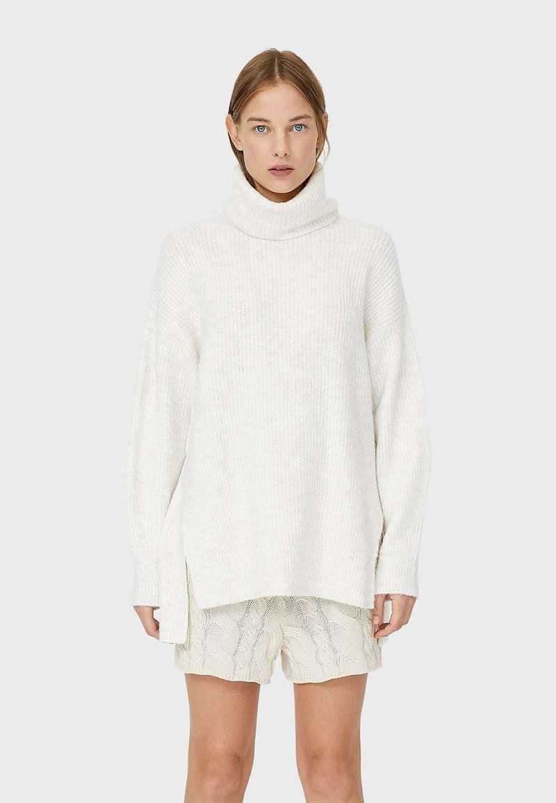 Stradivarius - Jumper - white